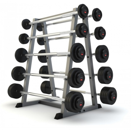 RZ 175 BARBELL SET WITH RACK  5-50